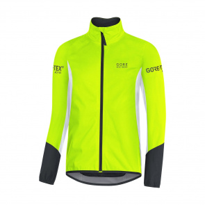 Gore Bike Wear Gore Wear Power GTX Jas Geel/Wit/Zwart 2018
