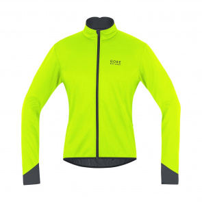 Gore Bike Wear Gore Wear Power 2.0 WS SO Jas Fluo Geel/Zwart 2018