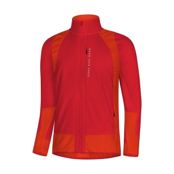 Gore Wear Power Trail Insulated Jas Rood/Oranje 2018