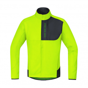 Gore Bike Wear Veste Gore Wear Power Trail WS SO Jaune Fluo/Noir 2018