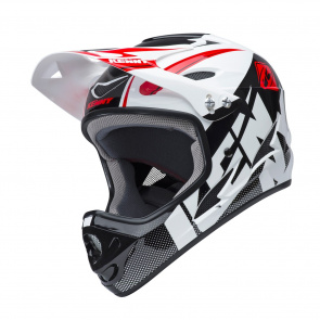 Kenny Kenny Downhill Helm Wit/Zwart 2018