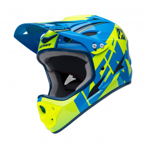 Kenny Casque Kenny Down Hill Jaune/Bleu Marine 2018
