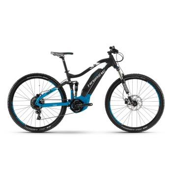"VTT Electrique 29"" Haibike SDuro FullNine 5.0 400 Noir/Bleu 2018"