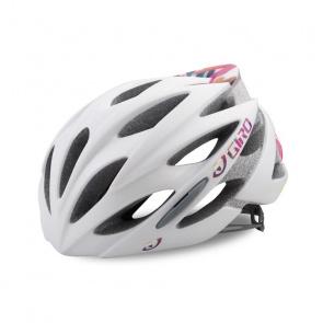 Giro Giro Sonnet Race Helm voor Vrouwen Mat Wit/Floral 2018