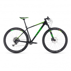 "Cube - Promo Cube Reaction C:62 Eagle 29"" MTB Carbon/Groen 2018"