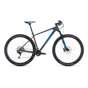 "Cube - Promo VTT 29"" Cube Reaction C:62 SL Gris/Bleu 2018"