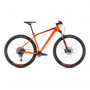 "Cube - Promo VTT 29"" Cube Reaction Race Orange/Rouge 2018"