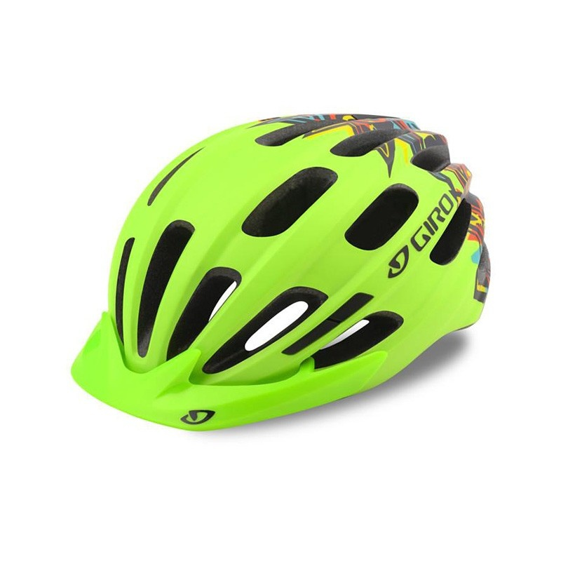 Casque Giro Junior Hale Jaune Fluo Mat 2021