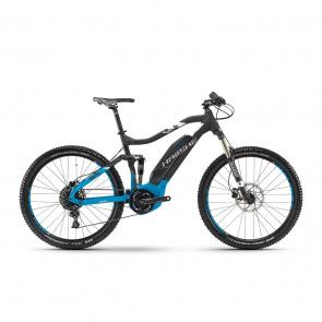"Haibike - Promo Haibike SDuro FullSeven 5.0 500 27.5"" Elektrische MTB Zwart/Blauw 2018"