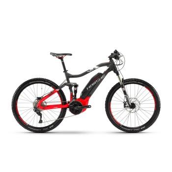 "VTT Electrique 27.5"" Haibike SDuro FullSeven 6.0 500 Anthracite/Rouge 2018"