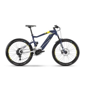 "VTT Electrique 27.5"" Haibike SDuro FullSeven 7.0 500 Bleu/Argent 2018"
