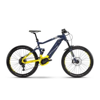 "VTT Electrique 27.5"" Haibike SDuro FullSeven LT 7.0 500 Bleu/Jaune Fluo 2018"