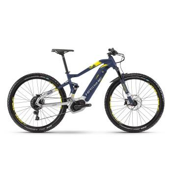 "VTT Electrique 29"" Haibike SDuro FullNine 7.0 500 Bleu/Argent 2018"
