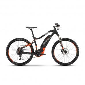 "Haibike - 2018 VTT Electrique 27.5"" Haibike SDuro HardSeven 2.0 400 Noir/Orange 2018"