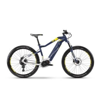 "VTT Electrique 27.5"" Haibike SDuro HardSeven 7.0 500 Bleu/Jaune 2018"