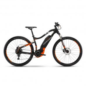 "Haibike - 2018 VTT Electrique 29"" Haibike SDuro HardNine 2.0 400 Noir/Orange 2018"