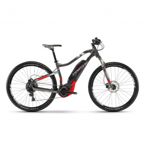 "Haibike - 2018 VTT Electrique 29"" Haibike SDuro HardNine 3.0 500 Titane/Rouge 2018"
