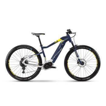 "VTT Electrique 29"" Haibike SDuro HardNine 7.0 500 Bleu/Jaune 2018"