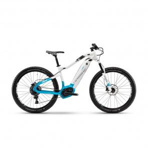 "Haibike - Promo Haibike SDuro HardLife 6.0 500 27.5"" Elektrische MTB voor Vrouwen Wit/Blauw 2018"