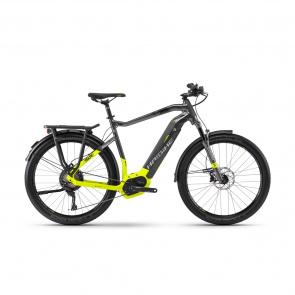 Haibike - 2018 Vélo Electrique Haibike SDuro Trekking 9.0 500 Titane/Jaune Fluo 2018
