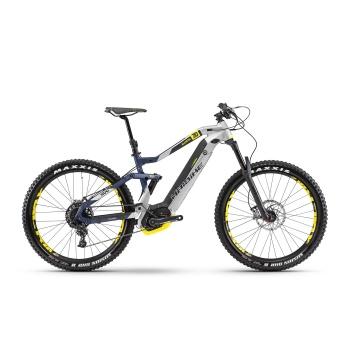 "VTT Electrique 27.5"" Haibike XDuro AllMtn 7.0 500 Argent/Bleu 2018"