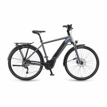 Vélo Electrique Winora Sinus i10 500 Gris Mat 2018