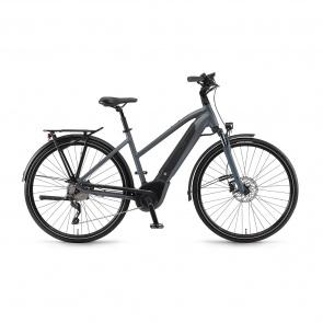 Winora - 2018 Vélo Electrique Winora Sinus i10 500 Trapèze Gris Mat 2018