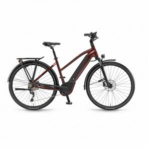 Winora - Promo Vélo Electrique Winora Sinus i10 500 Trapèze Rouge Piémont 2018 (44261108)