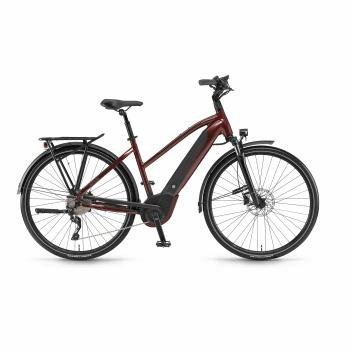 Vélo Electrique Winora Sinus i10 500 Trapèze Rouge Piémont 2018