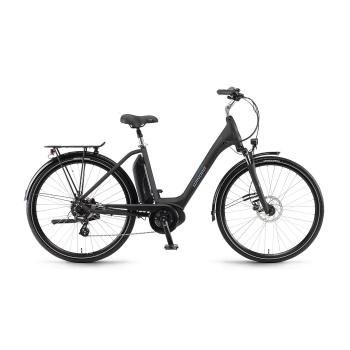 Vélo Electrique Winora Sima 7 400 Easy Entry Noir Mat 2018 (44033078)