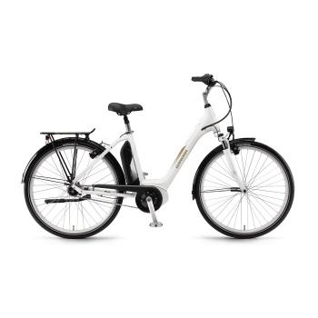 Vélo Electrique Winora Sima N7 400 Easy Entry Blanc 2018