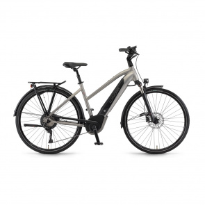 Winora - 2018 Vélo Electrique Winora Sinus iX11 500 Trapèze Gris Mat 2018