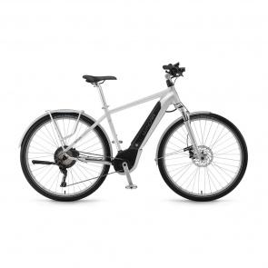 Winora - Promo Vélo Electrique Winora Sinus iX11 Urban 500 Argent 2018 (44300118)