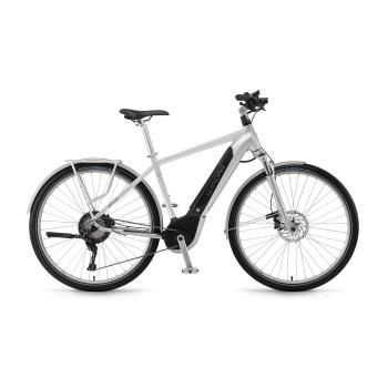 Winora Sinus iX11 Urban 500 Elektrische Fiets Zilver 2018 (44300118)