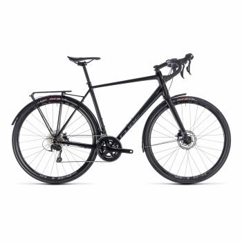 Vélo de Course Cube Nuroad EXC Noir/Gris 2018
