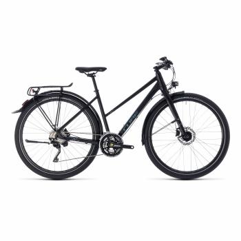 Vélo Cube Travel EXC Trapèze Noir/Gris 2018