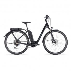 Cube - Promo Vélo Electrique Cube Touring Hybrid EXC 500 Easy Entry Noir/Gris 2018 (131200)