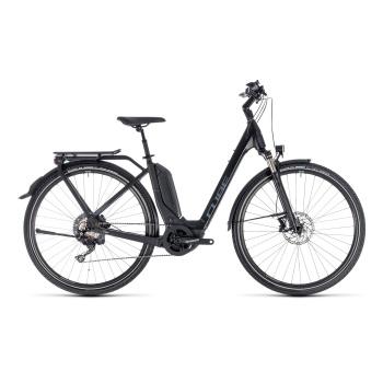 Vélo Electrique Cube Touring Hybrid EXC 500 Easy Entry Noir/Gris 2018 (131200)