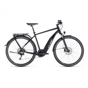 Cube - Promo Vélo Electrique Cube Touring Hybrid Pro 400 Noir/Blanc 2018 (131150)