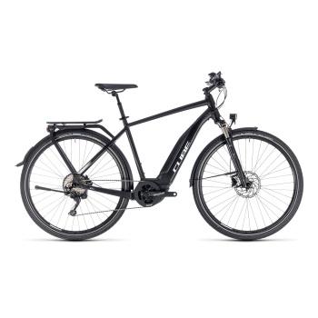 Vélo Electrique Cube Touring Hybrid Pro 400 Noir/Blanc 2018 (131150)