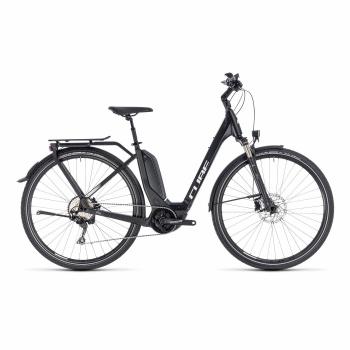Vélo Electrique Cube Touring Hybrid Pro 400 Easy Entry Noir/Blanc 2018 (131150)