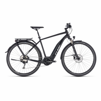 Vélo Electrique Cube Touring Hybrid Pro 500 Noir/Blanc 2018
