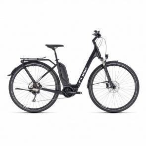 Cube - Promo Vélo Electrique Cube Touring Hybrid Pro 500 Easy Entry Noir/Blanc 2018 (131151)