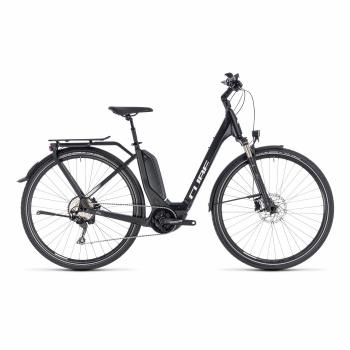 Vélo Electrique Cube Touring Hybrid Pro 500 Easy Entry Noir/Blanc 2018