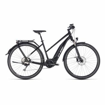 Vélo Electrique Cube Touring Hybrid Pro 500 Trapèze Noir/Blanc 2018 (131151)