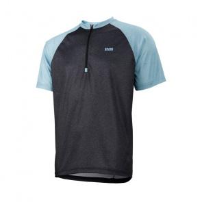 IXS IXS Trail 7.1 Shirt met Korte Mouwen Zwart/Brisk Blauw 2018