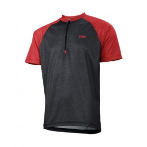 IXS IXS Trail 7.1 Shirt met Korte Mouwen Zwart/Fluo Rood 2018