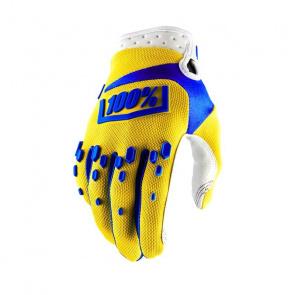 100% 100% Airmatic Handschoenen Geel 2018
