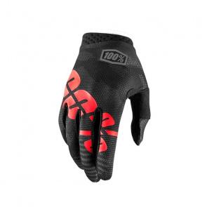 100% 100% iTrack Handschoenen Camo Zwart 2018