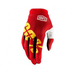 100% 100% iTrack Handschoenen Fire Rood 2018
